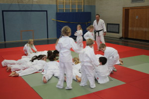 Judo an der GGS Richardstr