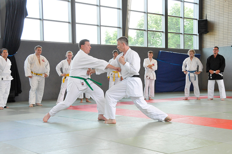 Thomas Prediger mit Karate